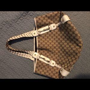 Gucci Pelham Shoulder Bag GG Canvas Large